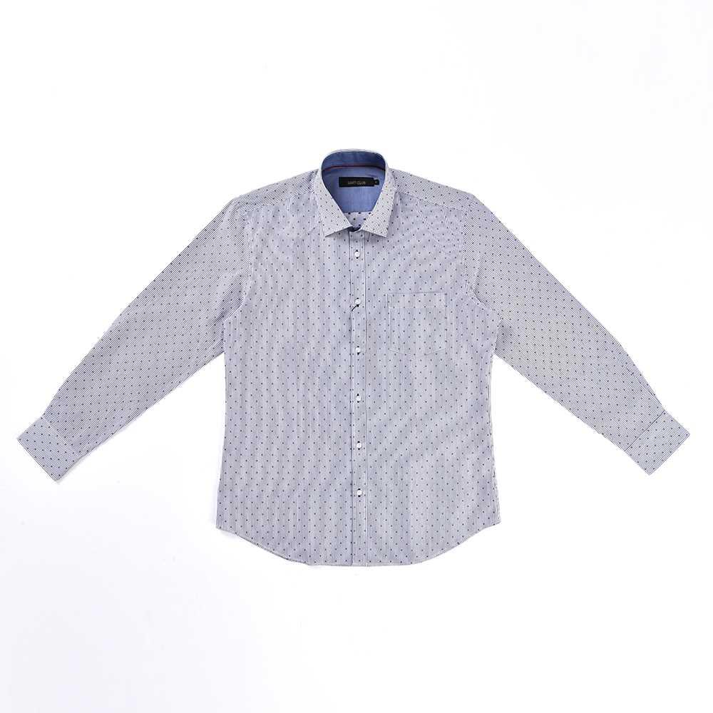 Premium Cotton Regular Fit Long Shirt 4S17021 18