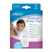 Dr.Brown's Breastmilk Storage Bags 25-pack DR-S4005 (2pcs)