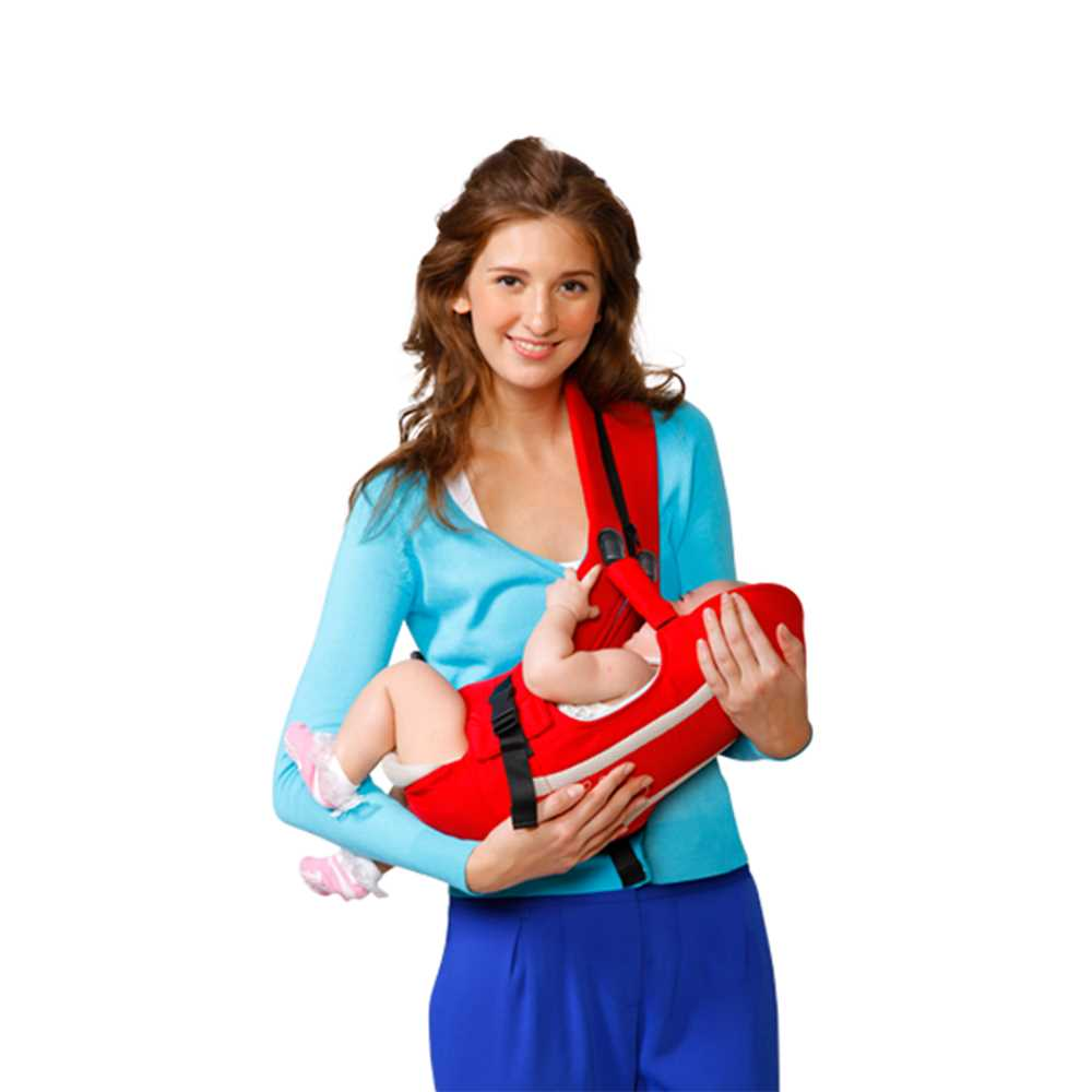 Babymate 4-in-1 Baby Carrier BM-029 - Red